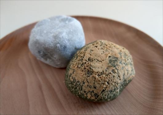 祇園饅頭の豆大福よもぎ餅