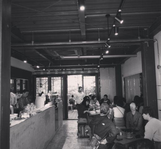 vermillioncafe店内