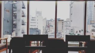 スタバ京都マルイ店景色