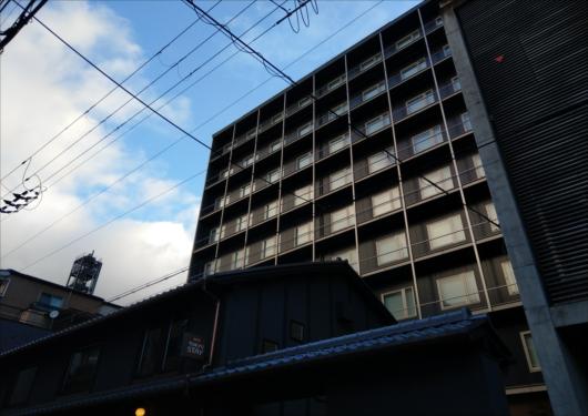 東急ステイ京都両替町通建物