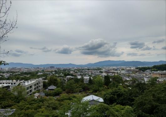 永観堂多宝塔からの景色