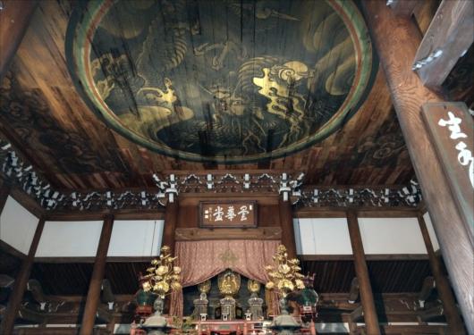 南禅寺の雲龍図