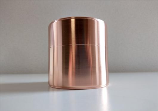 開化堂銅茶筒120g