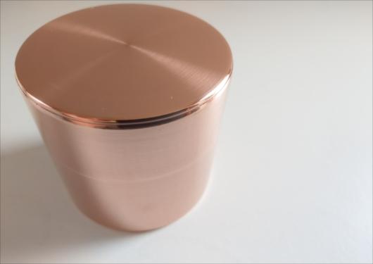 開化堂銅茶筒