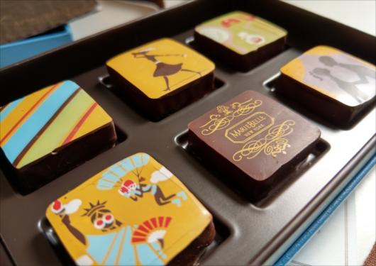 マリベル京都本店チョコレート