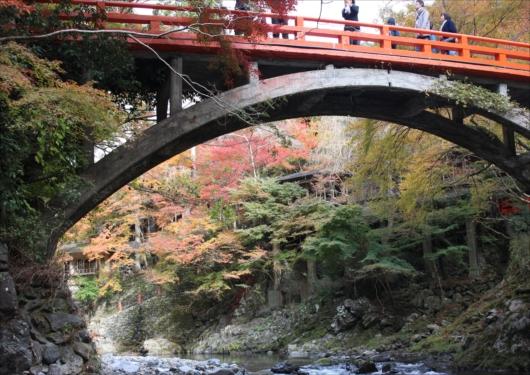 西明寺指月橋