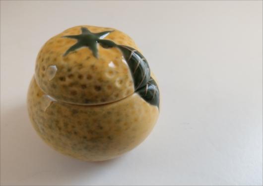 八百三柚型陶器
