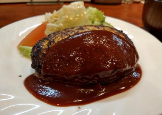 とくら京都三条店オリジナルハンバーグ