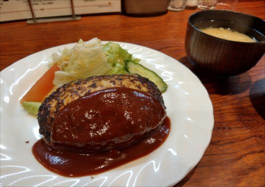 とくらハンバーグ京都三条店オリジナルハンバーグ