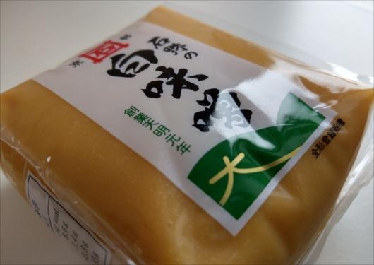石野味噌の白味噌パッケージ