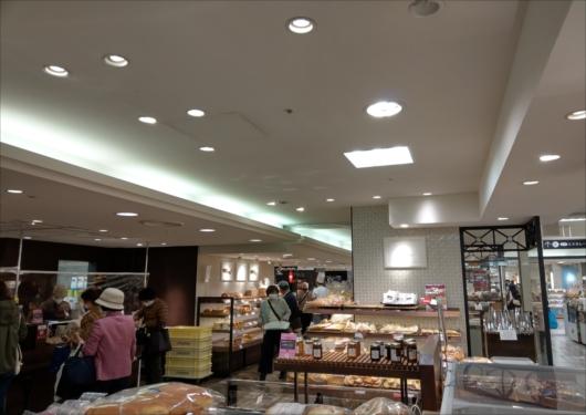 大丸京都店パン屋コーナー