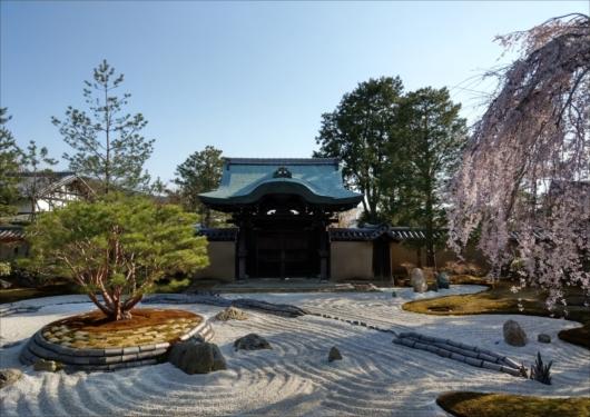 高台寺勅使門