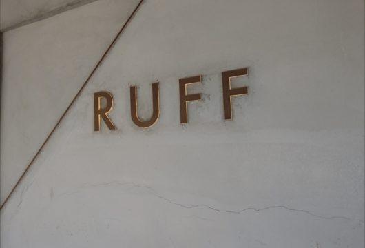 RUFF(ルフ)看板