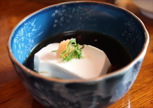 西山艸堂湯豆腐ランチ