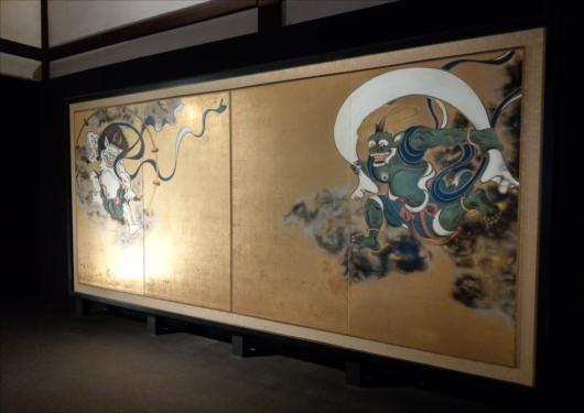 建仁寺国宝の風神雷神図